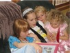 Erin Reading to Daub Cousins